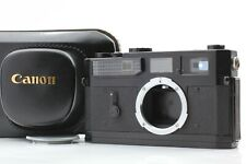 [Exc Canon Model 7 Original Black Paint Rangefinder Film Camera from Japan