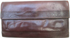 -AUTHENTIQUE portefeuille-porte-monnaie YVES SAINT LAURENT  cuir  (T)BEG vintage