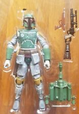 "Star Wars TBS 6"" Boba Fett 06 Hasbro red & black series box Mandalorian 2013"