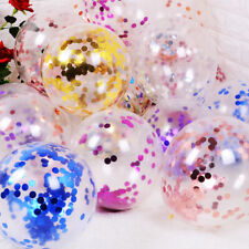 5x 12'' Wedding Birthday Balloons Latex Foil Ballons Kids Boy Girl Baby Party