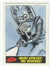 2017 TOPPS MARS ATTACKS THE REVENGE Todd Aaron Smith 1/1 Sketch Card