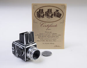 Hasselblad 1000F model year 1952 / Zeiss - Opton Tessar 1:2,8 80mm lens