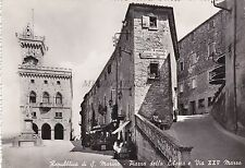 REPUBBLICA DI S. MARINO - Piazza della Libertà e Via XXV Marzo 1954