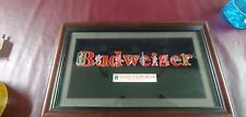 1996 Atlanta Olympic Games Budweiser Pin Set Limited Edition Framed