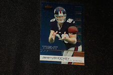 JEREMY SHOCKEY 2002 TOPPS FINEST ROOKIE CARD #87 NY GIANTS LEGEND