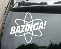 LARGE BAZINGA Big Bang Funny Car/Window JDM VW EURO DUB Vinyl Decal Sticker