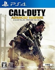 CALL OF DUTY ADVANCED WARFARE SONY PS4 PLAYSTATION JAPANESE NEW JAPANZON