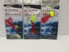 3 X RED BOAT AND PIER MUPPET RIG COD BULL HUSS LING SEA FISHING LURE POLLACK