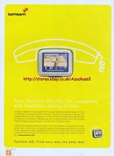 Tomtom Go 700 Car Navigation 2005 Magazine Advert #3331