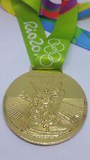 RIO DE JANEIRO  2016 Olympic Replica GOLD MEDAL