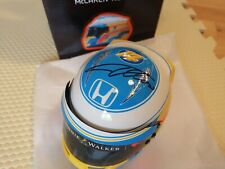 RARE SIGHNED FERNANDO ALONSO MCLAREN HONDA 2017 1/2 HALF SCALE MODEL HELMET