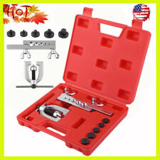 DOUBLE FLARING TOOL KIT Brake Line Tubing Auto Truck Tool New US STOCK BP