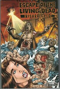 ESCAPE OF THE LIVING DEAD RESURRECTED TP TPB $29.99srp Avatar George Romero NEW