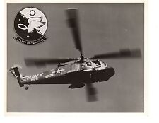 Kaman SH2F Seasprite HC2 Fleet Angels Insignia Navy Helicopter Official Photo
