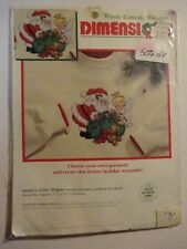 Dimensions Santa's Little Helper Waste Canvas Counted Cross Stitch Kit 8482 NEW