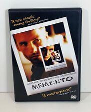 Memento (DVD, 2001) EXCELLENT CONDITION