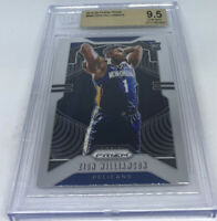 2019 Panini Prizm #248 Zion Williamson Rookie Base BGS 9.5 GEM MIN Pelicans