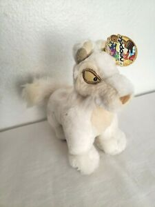 Neopets White Lupe Plush 2004 Limited Too Stuffed Animal Tags Small