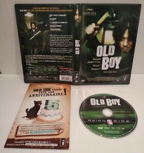 """OLD BOY """"Park Chan Wook"""" DVD Pal zone 2 - Comme neuf"""