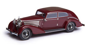 NEW & IN STOCK Esval 1932 Austro Daimler ADR8 Alpine Sedan RED Resin Model 1:43