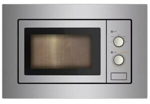 Cookology IM17LSS Built-in Microwave | Stainless Steel Integrated Frame Trim Kit