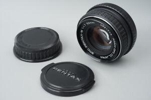 Pentax-M 50mm f/1.7 f1.7 Prime Manual Focus Lens, For Pentax K PK Mount