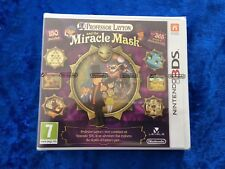 Professor Layton and the Miracle Mask - Nintendo 3DS Factory Sealed NEW Nice