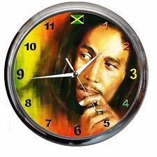 orologio NUOVO da parete BOB MARLEY watch music cd musica