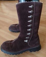 UGG AUSTRALIA MID-CALF PULL ON SUEDE BOOTS, SZ 6