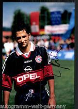 Hasan Salihamidzic Super Großfoto 20x30 cm Bayern München Orig.Sign+09