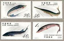 China 1994-3 Sturgeons Stamps - Fish