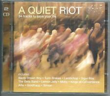 A QUIET RIOT 2-CD NICK DRAKE MOJAVE 3 SIGUR ROS LAMBCHOP KINGS OF CONVENIENCE