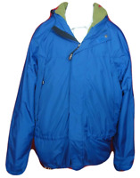 Men's L.L. Bean Outdoors Blue Fleece Lined Polyester Jacket Sz L Tall