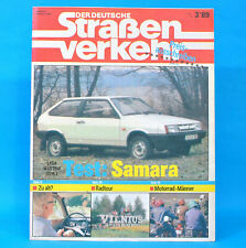 DDR Der Deutsche Straßenverkehr 3/1989 Lada Samara Querfurt Verkehrsunfall M7