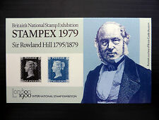 GB 1979 Penny Black Roland Hill Stampex M/Sheet FP7135