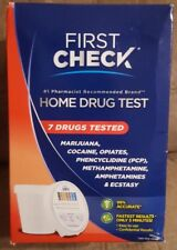 First Check Home, 7 Drug Test 1 Each