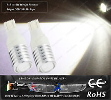 Cree LED T15 W16W 921 Xenon White Car Reverse Rear Tail Bulbs Back Up Lights 12V