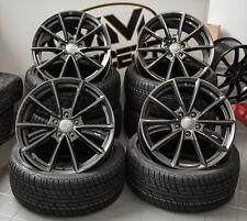 18 Zoll Wheelworld Wh28 Alufelgen 5x112 grau für Audi A3 S3 Octavia RS RS3 GTI