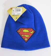 Superman beanie hat junior kids official Dc comics product BNWT