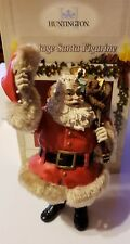 "Vintage Santa Figurine, Huntington 9.5"" in Box"
