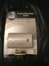 New Kiddie Code One Battery Operated Carbon Monoxide Alarm Residential Detector