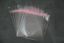 200 Cubiertas protectoras de Película con cierre adhesivo para fundas DVD 14 mm
