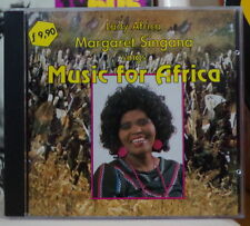 MARGARET SINGANA SINGS MUSIC FOR AFRICA COMPACT DISC CLOUD
