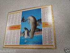 ALMANACH PTT calendrier des postes 1975 oberthur dauphin saint amant dept 54 *