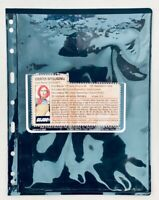 1982 GI Joe File Card : Scarlett (V1) Counter Intelligence Hasbro