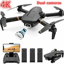 2021 Rc Drone 4K Hd Wide Angle Camera WiFi fpv Drone Dual Camera Quadcopter Us