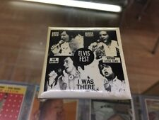 """Elvis Presley Elvis Fest I Was There 2""""x 2"""" Square Button Pinback"""