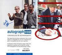 WOODY ALLEN signed Autographed 8X10 PHOTO - EXACT PROOF Director ACOA COA