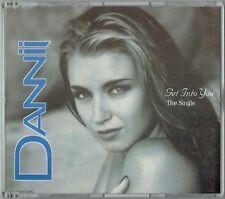 "DANNII MINOGUE - 5""CD - Get Into You (5 Mixes) UK  Mushroom"