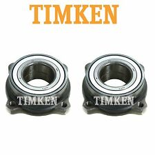 For BMW E60 E82 E88 F07 Pair Set of 2 Rear Wheel Bearings Assembly Timken 512225